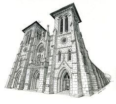 San Fernando Cathedral- By Paul Heaston