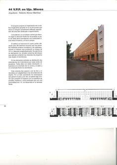 """* XII Premio Asturias de Arquitectura. Año 1995 Finalista. V.P.P. en Ujo. Mieres. Información extraída de: """"12 Edición Premio Asturias de Arquitectura 1995"""" . Colegio Oficial de Arquitectos de Asturias. 1996"""