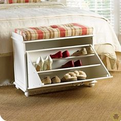 Storage Ideas Creative Of Small Shoe Bench Online Get Cheap Shoe Rack Bench Furniture For Small Spaces, Shoe Storage Design, Diy Storage, Bench With Shoe Storage, Storage Design, Diy Storage Bench, Storage, Furniture, Shoe Storage