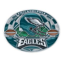 #Eagles Stained Glass Decal $7.99