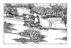 Agata Byrne, Design No 2, Glebe Farm, Garden view No2
