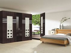 the newest bedroom furniture design catalog with modern bedroom cupboard design ideas and wooden wardrobe interior designs 2019 Wall Wardrobe Design, Wardrobe Interior Design, Wardrobe Door Designs, Modern Interior Design, Wardrobe Furniture, Bedroom Furniture Design, Bedroom Wardrobe, Wooden Wardrobe, Bedroom Cupboard Designs