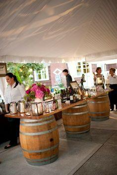 Die 32 besten bilder von weinfass als stehtisch f sse hochzeitsinspirationen und weinfass - Weinfass als gartenhaus ...
