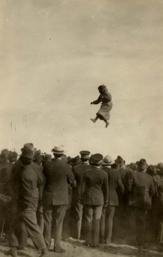 Eskimo blanket toss, 1915? – 1930?  | by Marquette University Archives