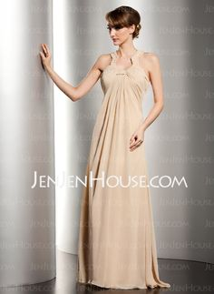 Mother of the Bride Dresses - $136.99 - A-Line/Princess Scoop Neck Floor-Length Chiffon Mother of the Bride Dresses With Ruffle Beading (008014534) http://jenjenhouse.com/A-Line-Princess-Scoop-Neck-Floor-Length-Chiffon-Mother-Of-The-Bride-Dresses-With-Ruffle-Beading-008014534-g14534