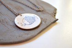 Ceramic necklace. Ceramic jewelry