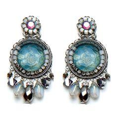 Ayala Bar Jewelry Designer, Israel  Shaded Lake Earrings