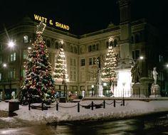 Watt and Shand Christmas photo 1989