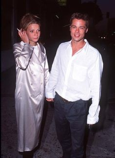 Brad Pitt and Gwyneth Paltrow at event of Living in Oblivion (1995)