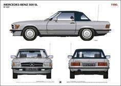 1986 Mercedes Benz 300 SL
