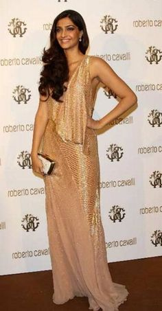 Sonam Kapoor identified as 'Miss Jooniberse' at Roberto Cavalli's Boutique Opening & Private Dinner on Yacht 2011 May