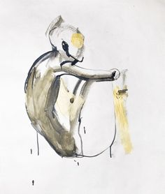 Figure Drawing by Liva Rutmane #art #painting #nude