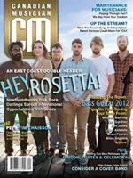 hey rosetta! on the cover of canadian musician, no less!