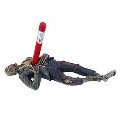 zombie pencil holder