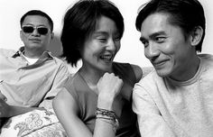 Wong Kar Wai, Maggie Cheung, Tony Leung