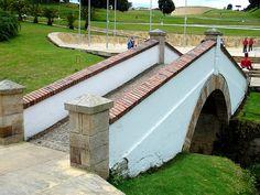 Colombia - Boyaca Bridge ✨✨ #crazyColombia.com parte importante de la historia de Colombia