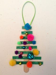 DIY Christmas Tree Ornaments - As Seen on Pinterest.