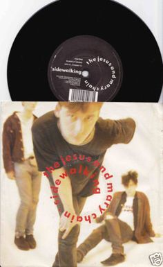 JESUS-MARY-CHAIN-Sidewalking-1988-UK-7-45-VINYL-Single-INDIE-NEG32-Free-S-H