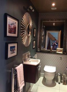 Decor, Framed Bathroom Mirror, Bathroom Decor, Furniture, Grey Bathrooms, Home Decor, Mirror, Bathroom