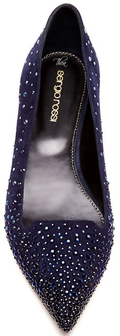 Smoking Crystal-Embellished Suede Flats by Sergio Rossi - Moda Operandi Sergio Rossi, Pretty Shoes, Beautiful Shoes, Shoe Boots, Shoes Heels, Ugg Boots, Embellished Shoes, Pumps, Dream Shoes