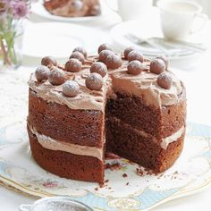 Mary Berry's Malted Chocolate Cake - Woman And Home
