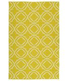 RugStudio presents Kaleen Brisa Bri07-28a Yellow Flat-Woven Area Rug