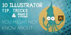10 Adobe Illustrator Tips, Tricks @Adobe #graphic #design #illustrator