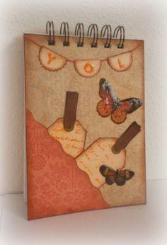 Libretas personalizadas.Altered notebook.  Notebook. Cuaderno decorado. Libro alterado. Book.