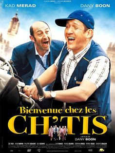Haha, so funny! Dany Boon and Kad Merad in French cinema film Bienvenue chez les Ch'tis Film Movie, Cinema Movies, Comedy Movies, Comedy Pic, Movies And Series, Movies And Tv Shows, Movies To Watch, Horror, Flims
