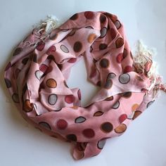 OVERSIZED DOTTED PASHMINA SCARF Scarf. PRICE FIRM UNLESS BUNDLED. (2). DO NOT BUY THIS DISPLAY. I WILL CREATE YOU A LISTING. Accessories Scarves & Wraps