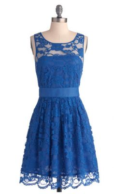We have blue in every hue with our lovely blue dresses at ModCloth! Shop a variety of royal blue dresses and navy blue dresses and more at ModCloth today. Pretty Outfits, Pretty Dresses, Beautiful Dresses, Beautiful Boys, Short Lace Dress, Short Dresses, Summer Dresses, Holiday Dresses, Cheap Dresses