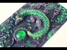 PREVIEW: Polymer Clay Artwork & Journal Covers by Velvetorium | Gothic & Fantasy Art - YouTube