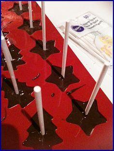 trinkschokolade am stiel auf pinterest selbermachen. Black Bedroom Furniture Sets. Home Design Ideas