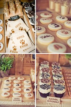 Tahlin's Safari Party Recycle, Reduce, Reuse! Jungle Theme Parties, Safari Theme Party, Safari Birthday Party, Jungle Party, Animal Birthday, Birthday Fun, Birthday Parties, Jungle Safari, Safari Food