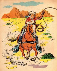 Image result for vintage western drawings