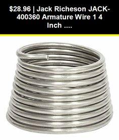 10-Feet by 1//4-Inch Jack Richeson Armature 3-Wire Gauge