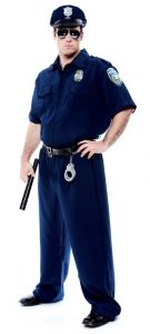 State Trooper Costume - Plus Size Costumes