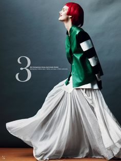 I love ALL these looks.    varens nya looks: stina rapp wastenson by marcus ohlsson for elle sweden february 2013   visual optimism; fashion editorials, shows, campaigns & more!