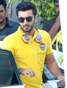 Ranbir Kapoor spotted at Mumbai airport. #Bollywood #Fashion #Style #Handsome