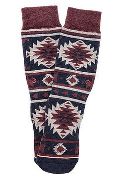 The Nu Native Sock in Pink by Stance Socks