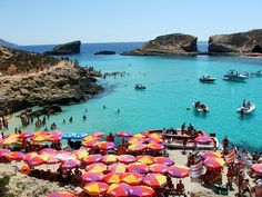 Blue lagoon, Malta! One of my favorites!!!