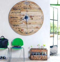 pallet clock!