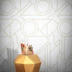 Feathr Super Abstract Wallpaper Sand by Supermundane B&q Wallpaper, Wallpaper Paste, Geometric Wallpaper, Latest Wallpapers, Perfect Wallpaper, Elle Decor, New Wave, Scandinavian Style, Designer Wallpaper
