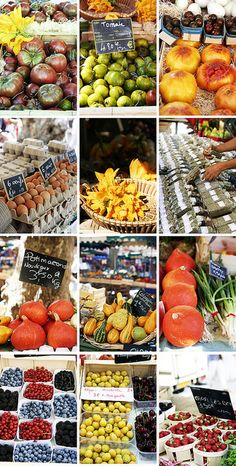 Market in Aix-en-Provence by Juls1981, via Flickr