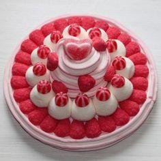 Tarta de chuches | Gâteau aux fraises et bonbons | Candy cake | Gourmandise