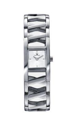 Viceroy 47482-05 - Reloj de mujer de cuarzo, correa de acero inoxidabl