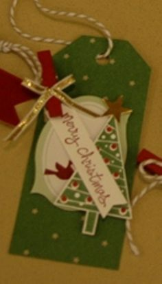 Stampingroxmyfuzzybluesox: Stampin' Up! Under the Tree Tag a Bag Tags!