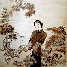 Wang Xi Guo Pyrogravure