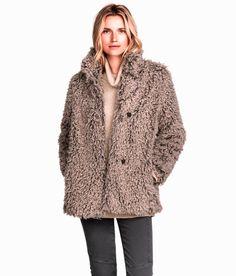 H&M Faux Fur Jacket, $79.95.