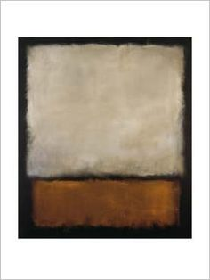 rothko. This is a beautiful one. I love the dark underpainting, and the shimmering layers of silver gray and gold.